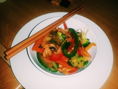 Chicken Noodle Stir Fry