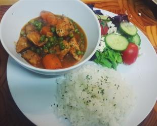 Chicken & Sweet Potato Curry