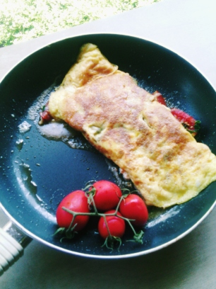 An Omelette Between Friends