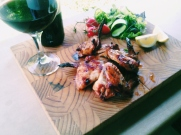 Honey, Mustard And Soy Chicken Wings