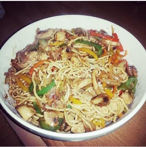 Chicken Noodle Stir Fry
