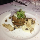 Cauliflower & Bean Patties with Porcini mushrooms